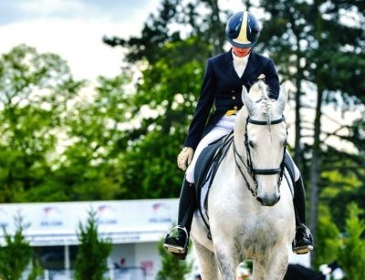 How to Salute in a Dressage Test